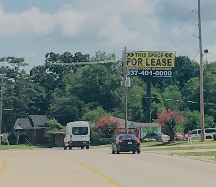 Professional Outdoor Advertising in Louisiana and Texas
